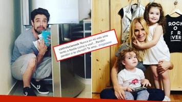 Luciano Castro y su pedido de disculpas a Sabrina Rojas en Instagram.
