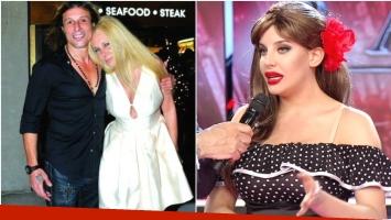 Charlotte Caniggia contó intimidades de su familia en ShowMatch (Fotos: Web y Captura)