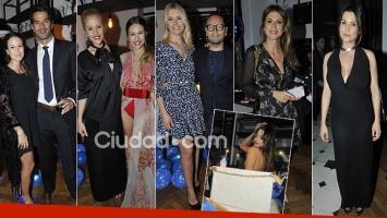 ¡Muchos invitados top! Espiá las fotos del cumpleaños de Fabián Medina Flores
