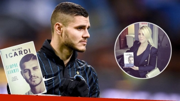 El escándalo con el libro de Mauro Icardi y la hinchada de Inter de Milán
