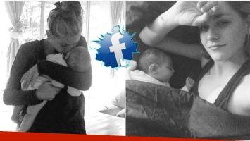 La carta de Rocío Igarzábal en Facebook sobre la maternidad y el parto (Fotos: Twitter y Facebook)