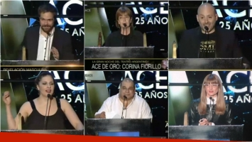 La directora teatral Corina Fiorillo, ganadora del Premio Ace de Oro 2016