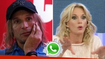 Yanina Latorre acusó a Claudio Caniggia de amenazas: