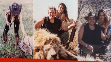 Filtran escandalosas fotos de Victoria Vannucci y Matías Garfunkel en plena matanza de animales (Foto: redes sociales)