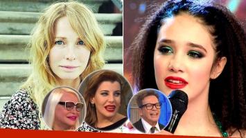Gloria Carrá defendió a su hija tras las burlas de Charlotte Caniggia y los Süller (Foto: web)
