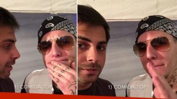 Grego Rossello y Alexander Caniggia debatieron sobre cómo ser top. (Foto: Instagram)