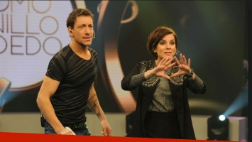 Nico Vázquez reveló el nombre completo de Gime Accardi en Como anillo al dedo.