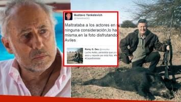 Yankelevich recordó una polémica foto de Lucho Avilés. (Foto: Twitter)