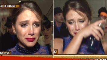 El llanto de Barbie Vélez, tras su gala en ShowMatch: