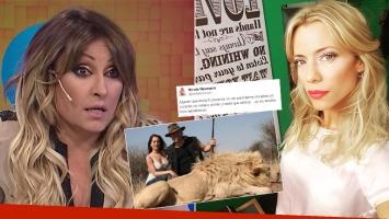 El picantísimo comentario de Marcela Tauro sobre Nicole Neumann
