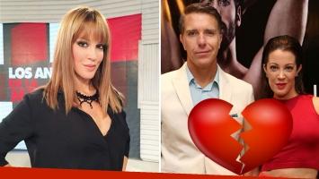 Miriam Lanzoni confirmó su separación definitiva de Alejandro Fantino