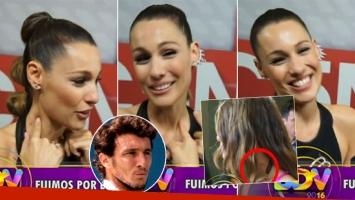 Escracharon a Pampita con una marca en el cuello (Foto: web)