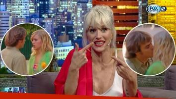 Brenda Gandini contó cómo fue la escena en que Benjamín Rojas le rompió un diente al besarla