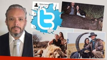 Matías Garfunkel pidió disculpas en Twitter tras las polémicas fotos matando animales (Foto: Twitter y web)