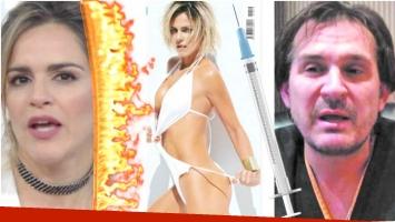 El enojo de la Chipi tras ser acusada de someterse a varias cirugías estéticas (Fotos: revista Caras y Web)