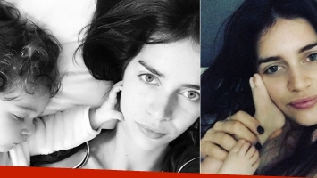 Zaira y su ratito de fiaca con Malaika (Foto: Instagram)