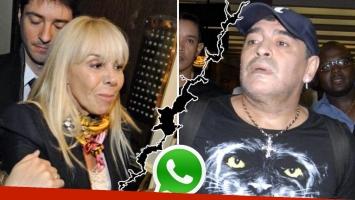 La suave respuesta de Claudia Villafañe a la dura acusación de Diego Maradona