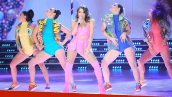 Lali Espósito brilló en la pista de ShowMatch (Foto: Prensa Ideas del Sur)