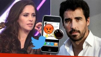 Victoria Vannucci y un picante tweet contra Nacho Viale (Foto: web y Twitter)