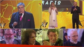 La apertura de los Premios Martín Fierro de Radio 2016 y el discurso de Luis Ventura. Foto: Captura
