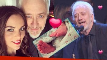 El tierno saludo de Andy Kusnetzoff a su hija en los Martín Fierro de Radio 2016 (Fotos: Web y Captura)