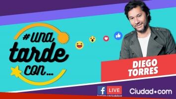 Diego Torres en #UnaTardeCon por Facebook Live.