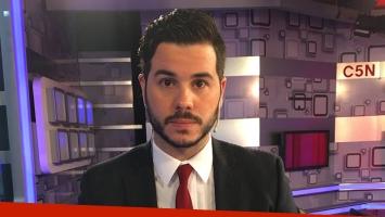 Nicolás Magaldi se despidió de C5N por propia voluntad. Foto: Twitter.