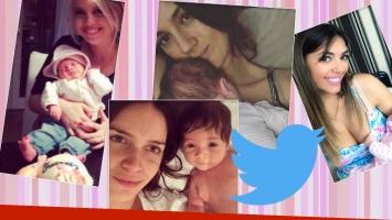Divertida charla de mamás famosas en Twitter. (Fotos: Instagram y Web)