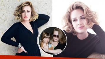 Adele reveló que tuvo depresión luego de dar a luz a Angelo. Foto: Web.