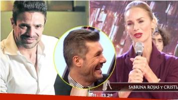 El sincericidio de Luciano Castro a Sabrina Rojas tras su emotivo homenaje a Evita en ShowMatch (Fotos: Web y Captura)