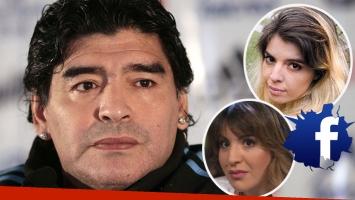 Maradona explotó contra Dalma y Gianinna  (Foto: web)