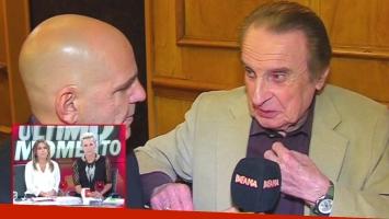 Santiago Bal insultó a Denise Dumas y Pía Shaw, las conductoras de Infama (Foto: Captura)