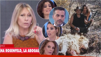 La polémica frase de Ana Rosenfeld, la abogada de Victoria Vannucci en Los Ángeles de la Mañana. Foto: Captura