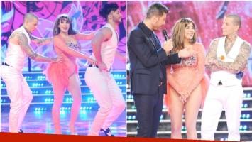 El debut de Charlotte Caniggia en el merengue en familia del Bailando (Fotos: Prensa Ideas del Sur)