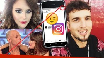 Mientras Barbie Vélez negaba romance con Dante Spinetta en el Bailando, el músico hacía una pícara interacción en Instagram  (Foto: web)