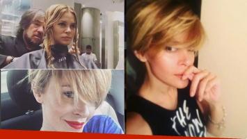 El cambio de look de Vanina Escudero. Fotos: Instagram.