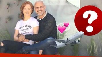 El viaje romántico de Agustina Kämpfer y Jorge Rial (Foto: Instagram)