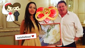Natalia Fassi se casó en secreto con Fabián Carballo (Foto: Instagram)