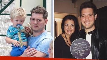Brandee, la tía de Noah Bublé expresó su apoyo al pequeño hijo de Michael Bublé y Luisana Lopilato. (Foto: Web)