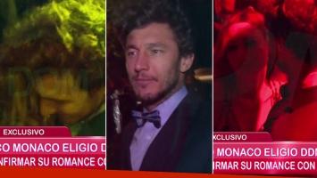 Pico Mónaco, bailecito sexy con Pampita y confirmación del romance (Foto: Web)