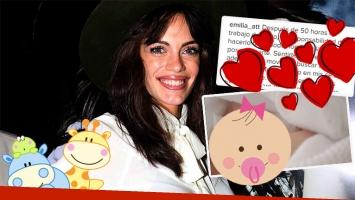 Emilia Attias y una dulce foto de su hija (Foto: Ciudad.com e Instagram)