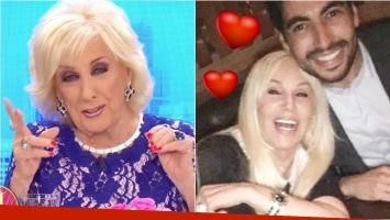 El comentario bomba de Mirtha sobre los rumores de romance entre Susana y Facundo Moyano. Foto: Captura/Web