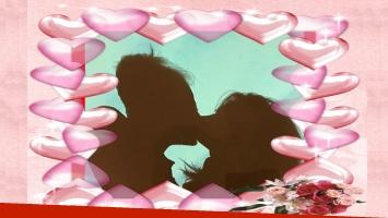 La romántica foto de Rial y Kämpfer en el MoMA de Nueva York.