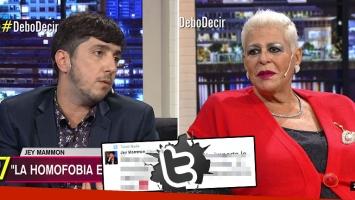 María Martha Serra Lima y sus polémicas declaraciones sobre la homosexualidad.