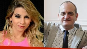 Cinthia Fernández, molesta con Laurencio Adot (Foto: web)