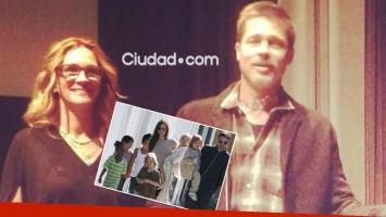 El aspecto de Brad Pitt luego de que Angelina Jolie le ganara la custodia de sus hijos (Foto: Ciudad.com y Web)