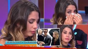 El desconsolado llanto de Cinthia Fernández por la enfermedad del hijo de Luisana Lopilato (Foto: web)