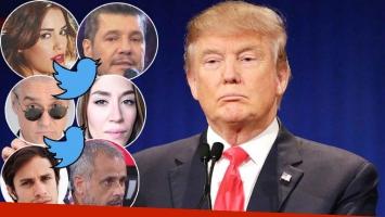 Las repercusiones de los famosos argentinos tras la victoria de Donald Trump como presidente de los Estados Unidos (Foto: Web)