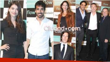 Varios famosos asistieron al lanzamiento de Flow, la nueva plataforma de Cablevisión (Fotos: Movilpress)