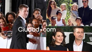 Brad Pitt: fue absuelto de la acusación de violencia contra sus hijos (Foto: AFP)